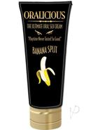 Oralicious Ultimate Oral Sex Cream 2 Ounce Banana Split