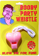 Booby Party Whistle Pink