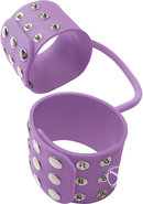 Fetish Fantasy Elite Silicone Cuffs Purple