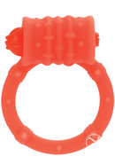 Posh Silicone Vibro Cock Ring Orange