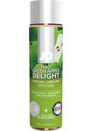 Jo H2o Flavored Lube Green Apple 4 Ounce