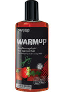 Warm Up Flavored Massage Oil Strawberry...