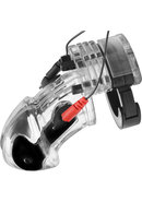 Zeus Electro Lockdown Estim Male Chasity Cage