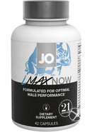 Jo Lmax Now Male Performance Dietary Supplement 42 Pills...