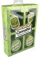 Cannibis Wrappers And Toppers Cupcake Set