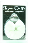 Furry Love Cuffs - White