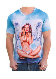 Angel Girl Mens T Shirt - M