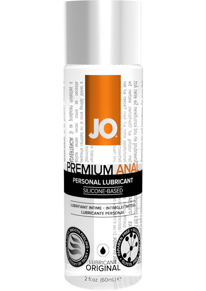 Jo Premium Anal Silicone Lubricant 2 Ounce