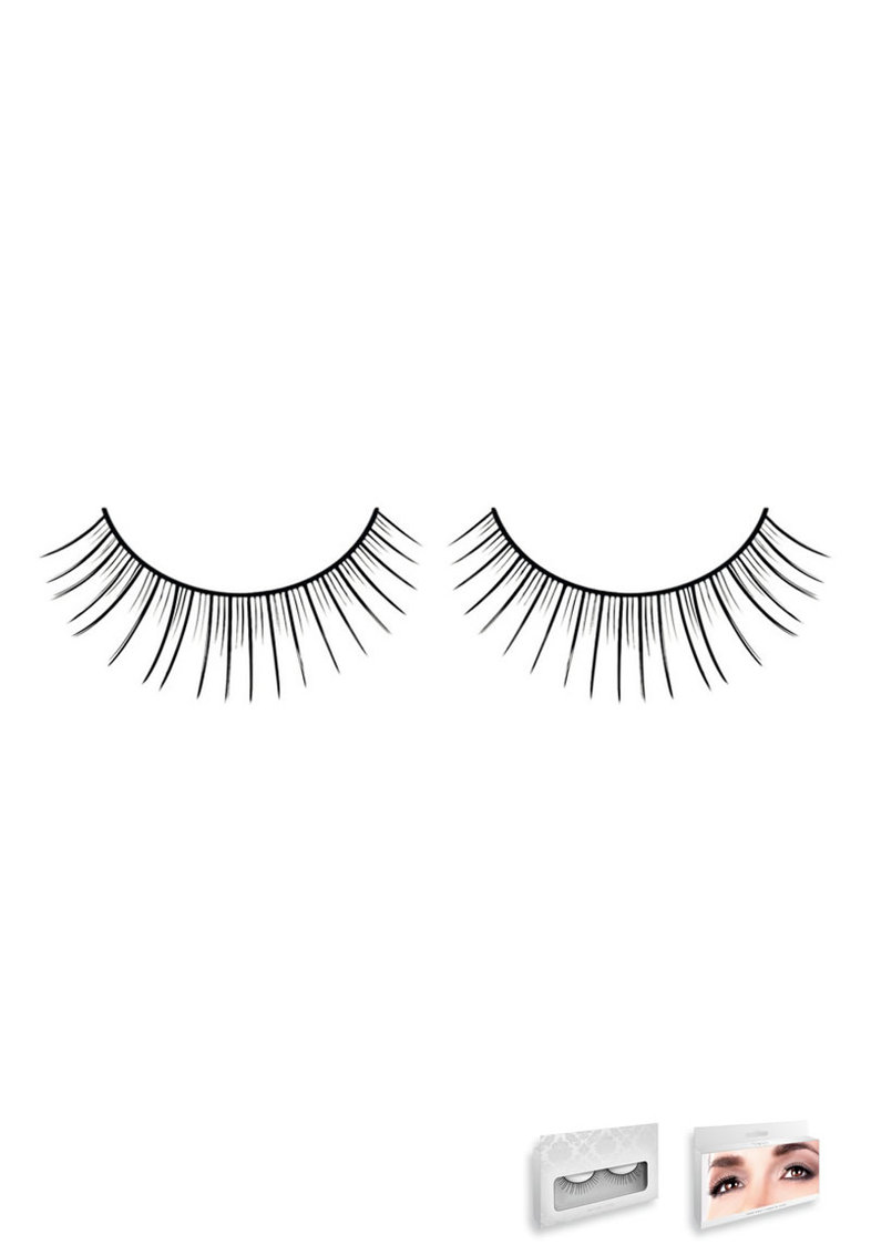 Black-white Deluxe Eyelashes