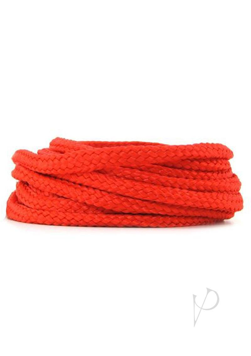 Japanese Silk Love Rope 10 Feet Red