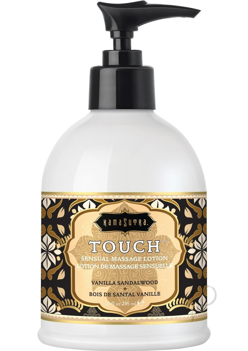 Touch Sesual Massage Lotion Vanilla Sandalwood 10 Ounce