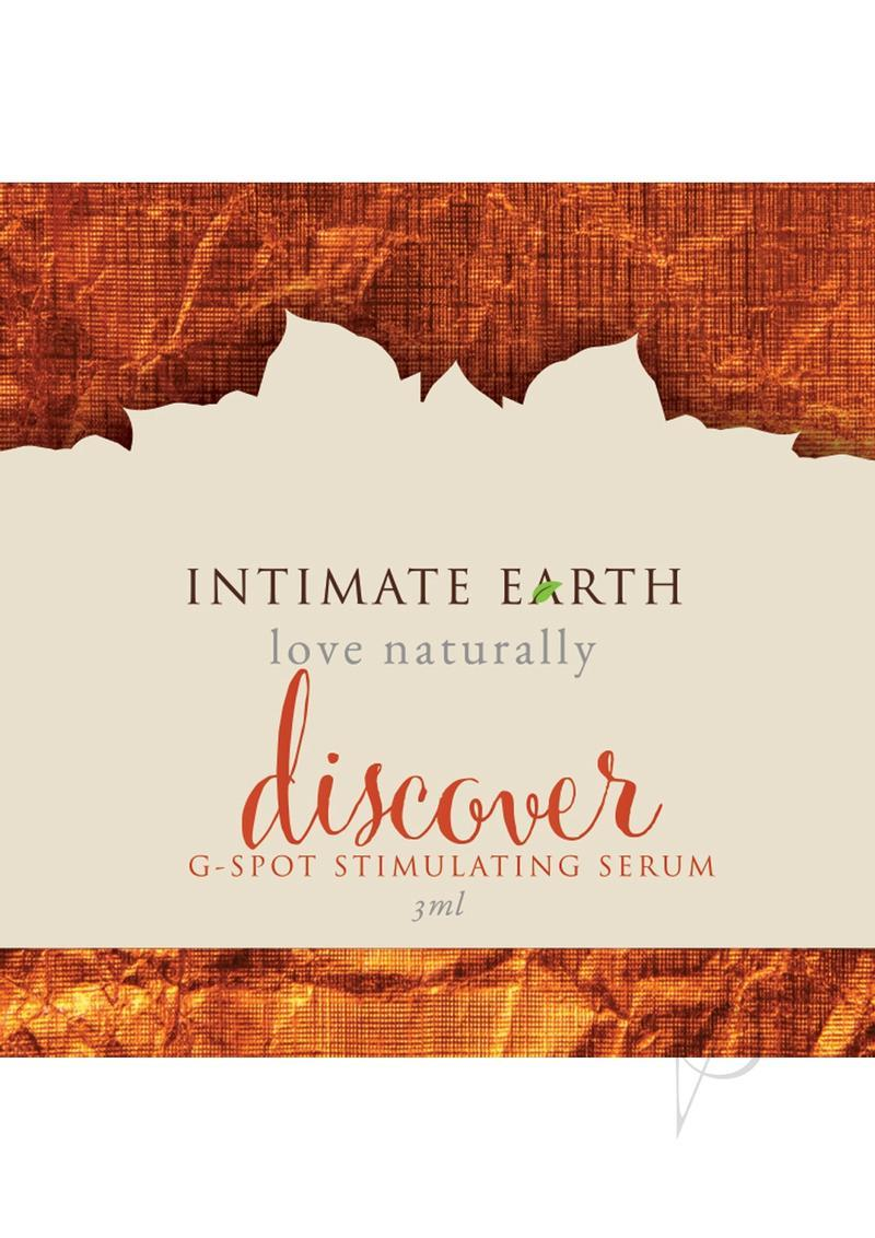 Intimate Earth Discover G-spot Stimulating Serum 3 Milliliter Foil Pack
