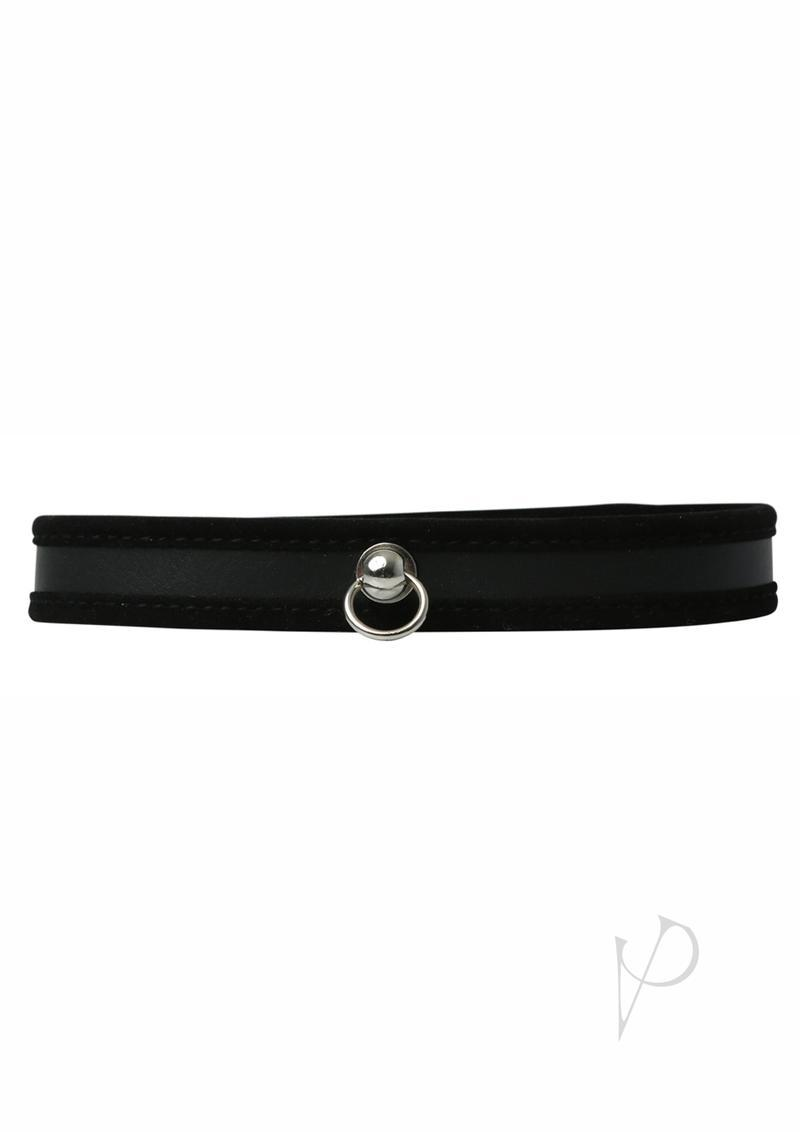 Sex And Mischief Day Collar Black