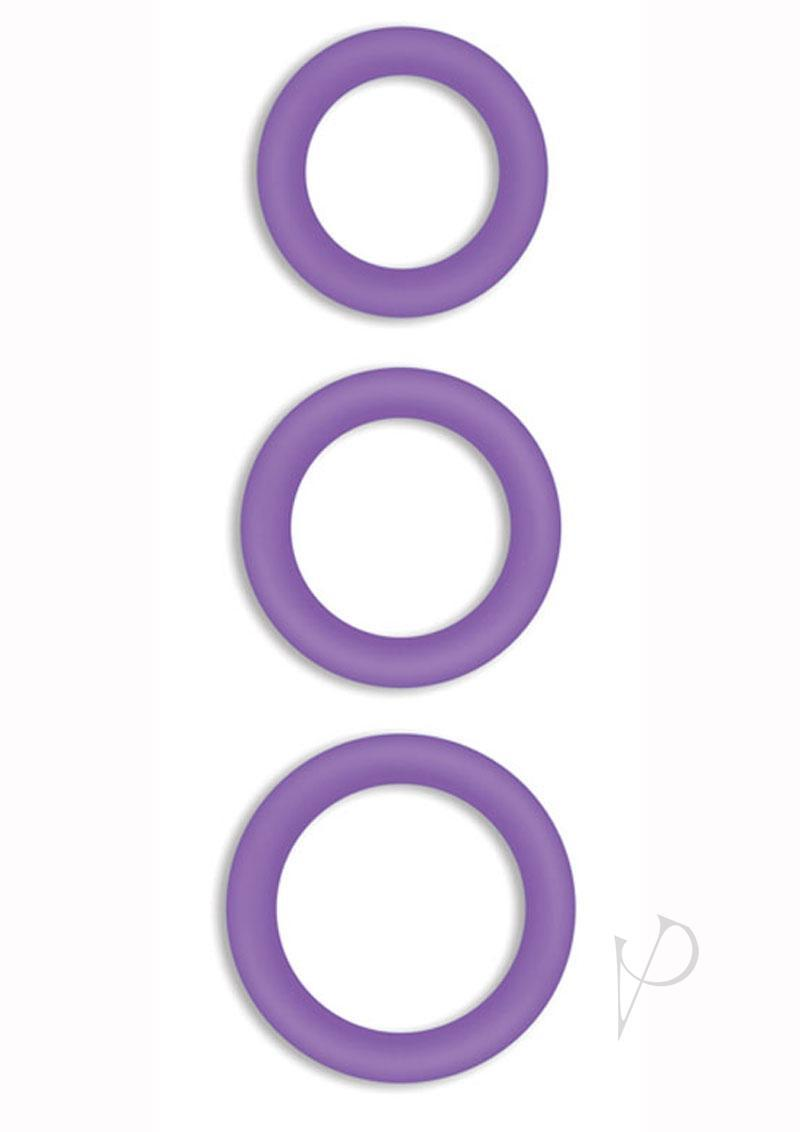 Firefly Halo Silicone Cock Ring Purple Small