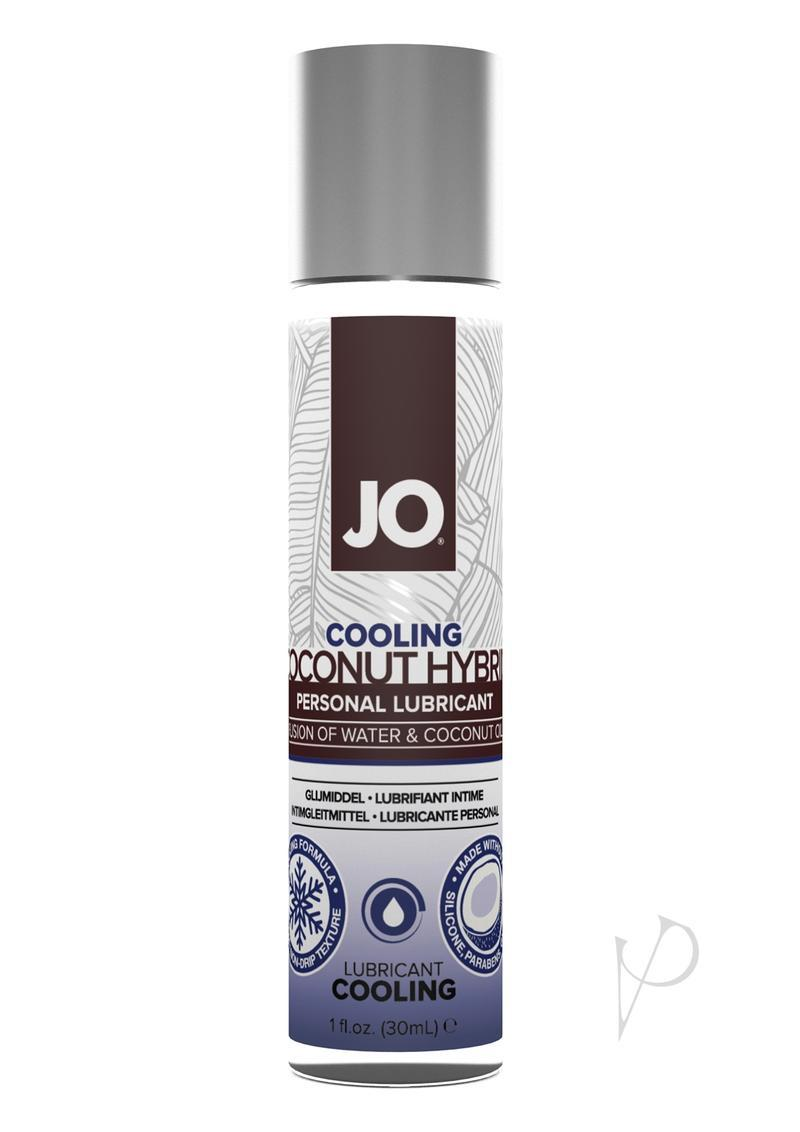 Jo Silicone Free Hybrid Personal Cooling Original Lubricant Water And Coconut Oil 1 Ounce