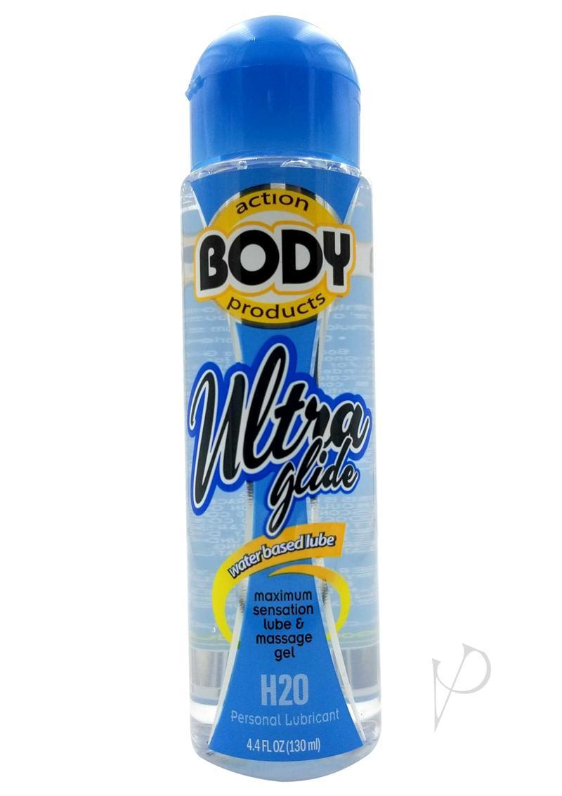 Body Action Ultra Glide Water Based Lubricant 4.4 Oz