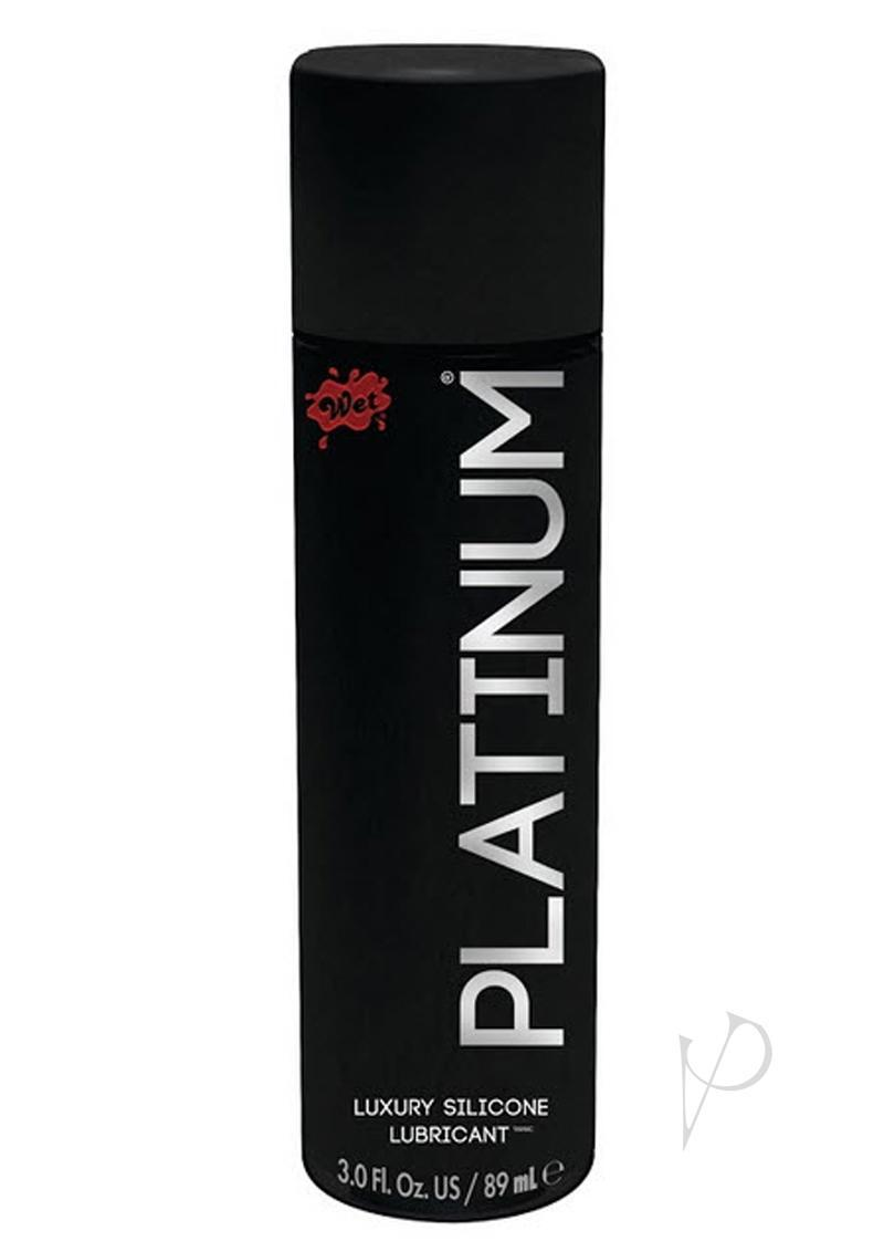 Wet Platinum Silicon Lube 3 Ounces